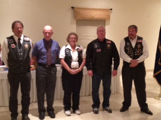 Post 272 Legion Riders Installation
